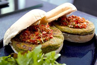 Falafel Vegan Burgers