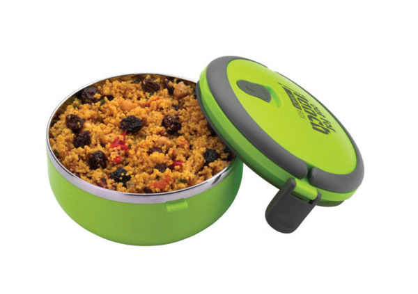 Pioneer Round Lunch Box - Green