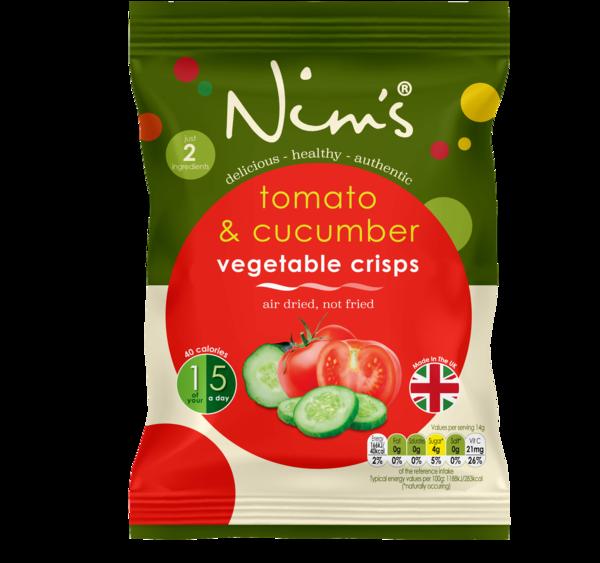 Nim's Tomato & Cucumber Crisps