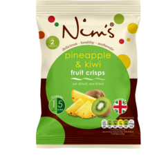 Nim's Pineapple & Kiwi Fruit Crisps